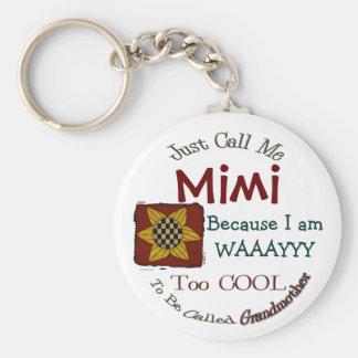 Porte-clés Appelez-moi porte - clé de la grand-maman Mimi