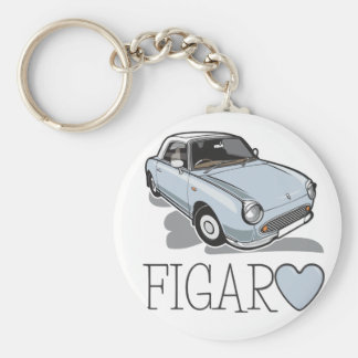 Porte-clés Aqua pâle de Nissan Figaro