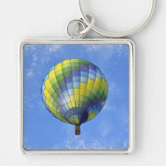 Porte-clés Aquarelle chaude d'art numérique de ballon à air