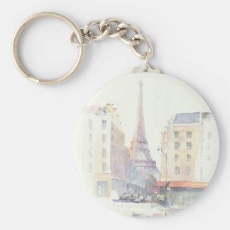 Porte-clés Aquarelle de Tour Eiffel | Paris