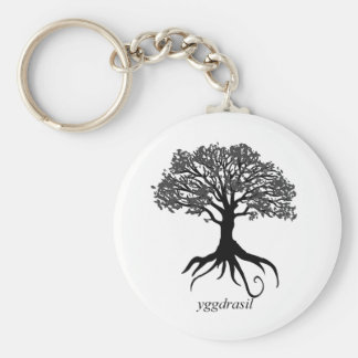 Porte-clés Arbre de Yggdrasil de la vie