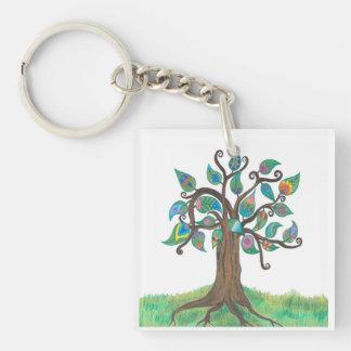 Porte-clés Arbre fantaisie et porte - clé de Paisley
