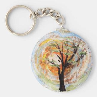 Porte-clés Arbre sur l'arbre