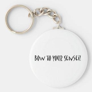 Porte-clés Arc à votre sensei