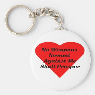 Porte-clés Arme formée contre moi ne prospérera pas