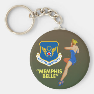 """Porte-clés Armée de l'Air de belle de Memphis 8ème la"""""""