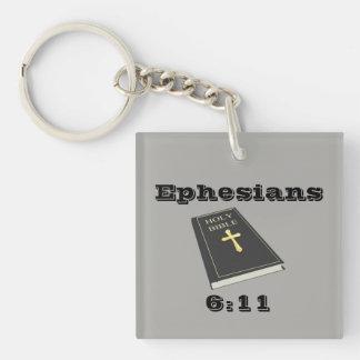 Porte-clés Armure du porte - clé w/Bible de Dieu