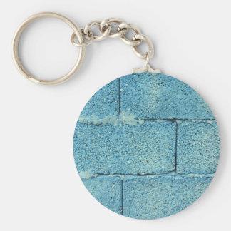 Porte-clés Arrière - plan azuré de mur de briques