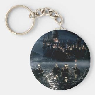 Porte-clés Arrivée du château   de Harry Potter chez Hogwarts