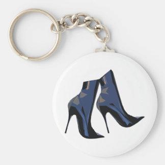Porte-clés Art à la mode de botte