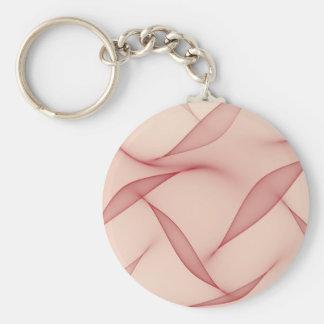 Porte-clés Art abstrait de feuille