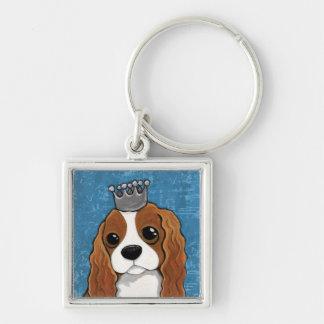 Porte-clés Art de chien de l'épagneul | du Roi Charles
