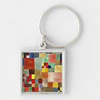 Porte-clés Art de Paul Klee : Flora sur le sable, peinture