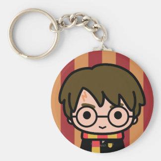 Porte-clés Art de personnage de dessin animé de Harry Potter
