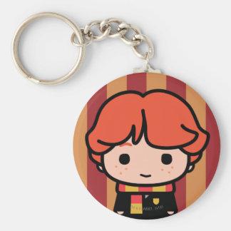 Porte-clés Art de personnage de dessin animé de Ron Weasley