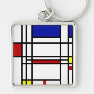 Porte-clés Art moderne de Mondrian