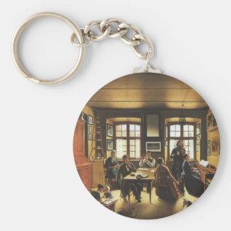 Porte-clés Art victorien, concert de famille de Bâle par
