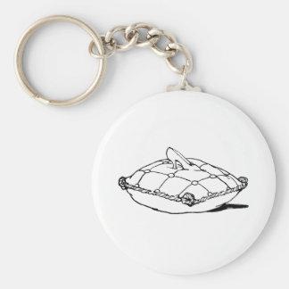 Porte-clés Art vintage de conte de fées de pantoufle de