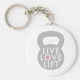 Porte-clés Ascenseur vivant Kettlebell d'amour