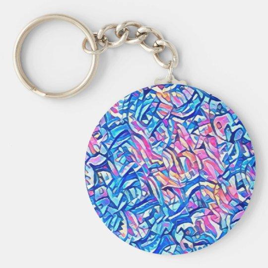 Porte-clés astral eau 3