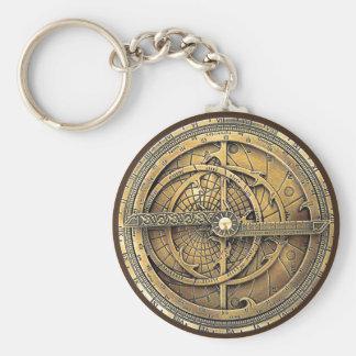 Porte-clés Astrolabe antique 2