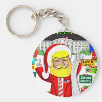 Porte-clés Atout de Père Noël Ho Ho Ho