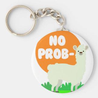 Porte-clés Aucun Prob-Lama - l'aucun lama de problème - drôle