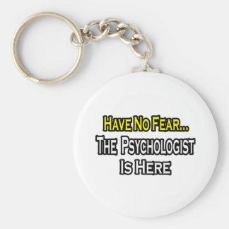 Porte-clés Aucun psychologue de crainte… n'est ici