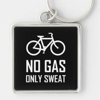 Porte-clés Aucun vélo de gaz n'a seulement sué