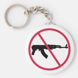 Porte-clés Aucunes armes d'assaut