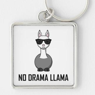 Porte-clés Aucunes lunettes de soleil de lama de drame