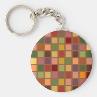 Porte-clés Automne carré