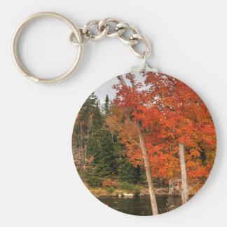 Porte-clés Automne d'Adirondack