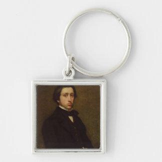 Porte-clés Autoportrait d'Edgar Degas |, 1855