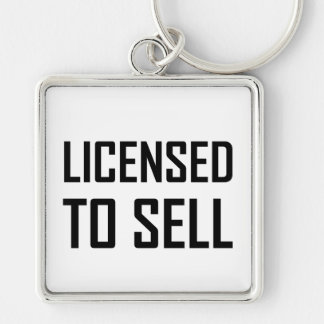 Porte-clés Autorisé à se vendre