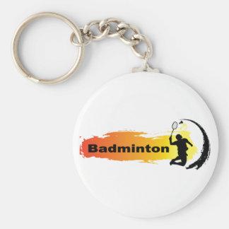 Porte-clés Badminton unique