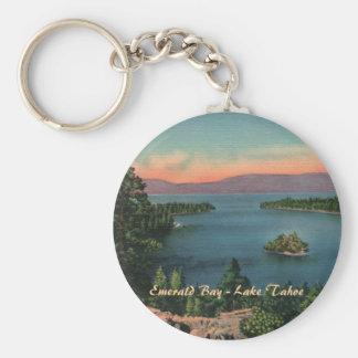 Porte-clés Baie verte - porte - clé du lac Tahoe