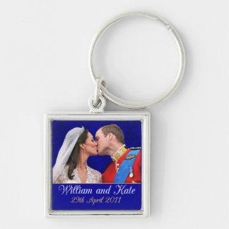 Porte-clés Baiser royal de mariage de William et de Kate