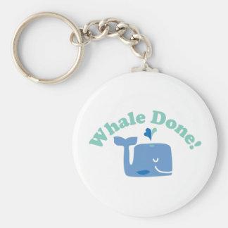 Porte-clés Baleine faite !