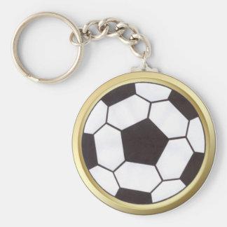 Porte-clés Ballon de football avec le porte - clé d'équilibre