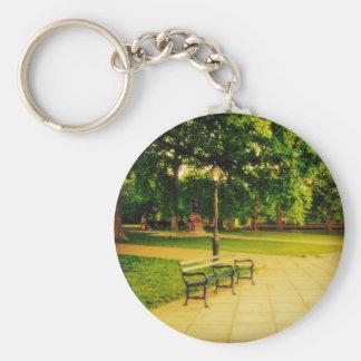 Porte-clés Banc de parc isolé