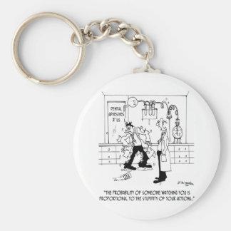 Porte-clés Bande dessinée 6198 de laboratoire