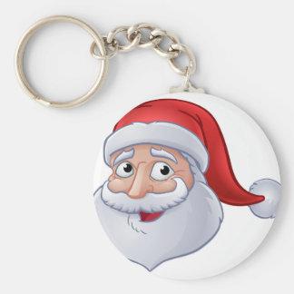 Porte-clés Bande dessinée du père noël de Noël