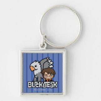 Porte-clés Bande dessinée Harry Potter et Buckbeak