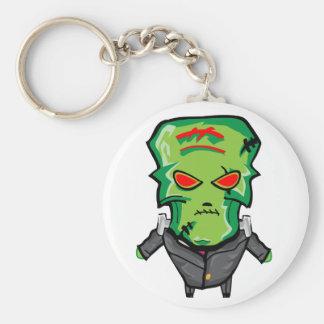Porte-clés Bande dessinée rouge et verte Halloween