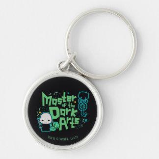 Porte-clés Bande dessinée Voldemort - maître des arts foncés