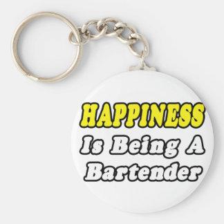 Porte-clés Barman de bonheur…