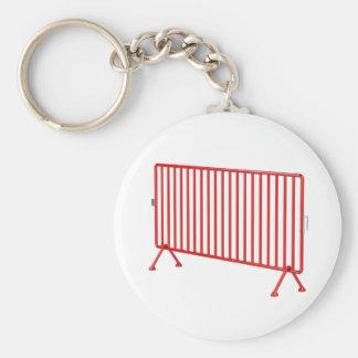Porte-clés Barrière mobile rouge