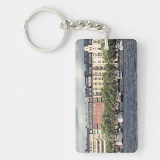 Porte-clés Bateaux et maisons à Stockholm