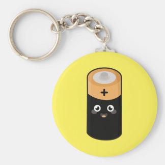 Porte-clés Batterie de Kawaii